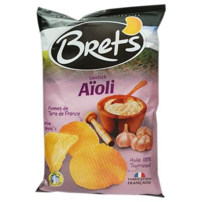 Bret's Garlic Mayonnaise Flavored Potato Chips 125g