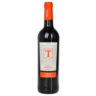 Tanins Syrah Red Wine 750ml