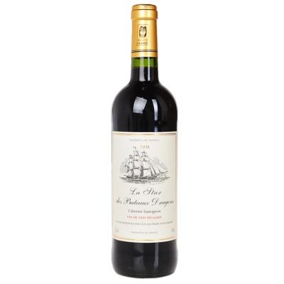 乐星龙船干红葡萄酒 750ml