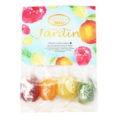 Passion Farandole Sucettes Fruits Du Jardin 80g