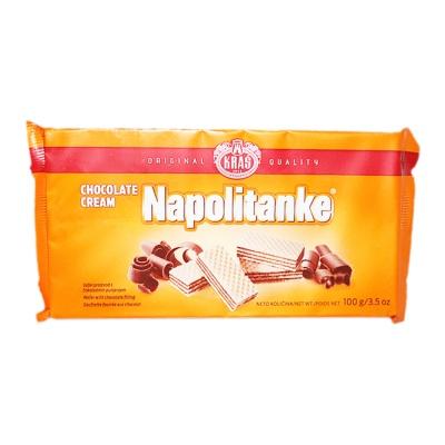 Kras Napolitanke Chocolate Cream Wafer 100g