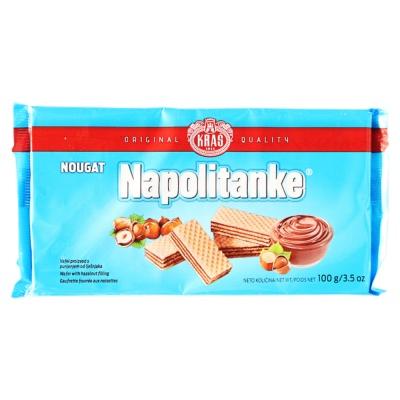 Kras Napolitanke Nougat Wafer 100g