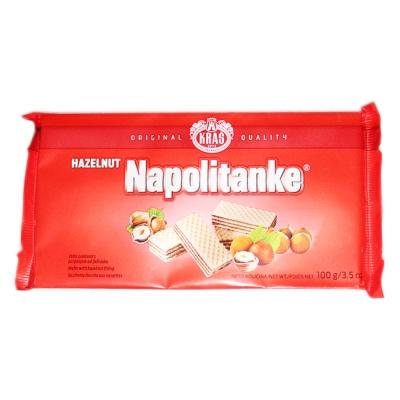 Kras Napolitanke Hazelunt Wafer 100g