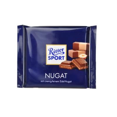 Ritter Sport Praline Nougat Chocolate 100g