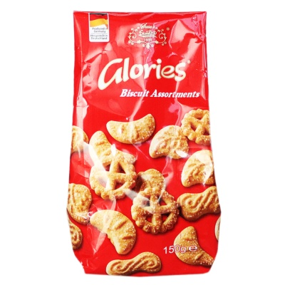 Glories Mini Biscuit Assortments 150g