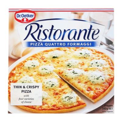 Ristorante Quattro Formaggl Pizza 340g