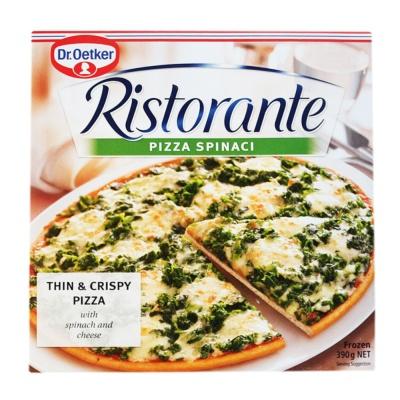 Ristorante Spinaci Pizza 390g