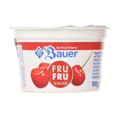 Bauer Cherry Yoghurt 100g