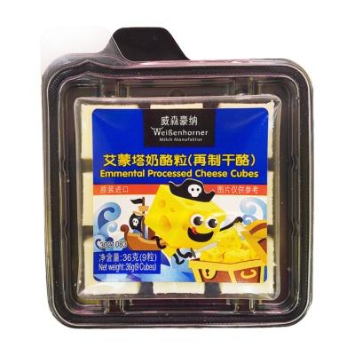 Weibenhorner Emmental Processed Cheese Cubes 36g