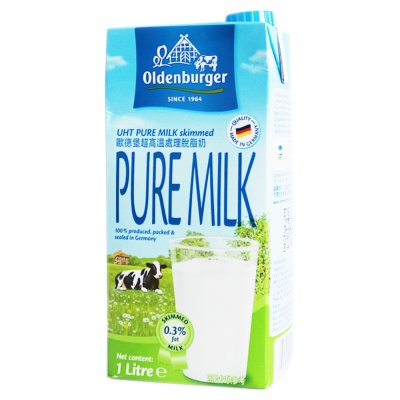 Oldenburger Skim Milk 1L