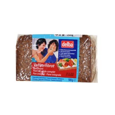 Delba Rye Bread 500g
