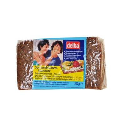 Delba Sunflower Seed Bread 500g