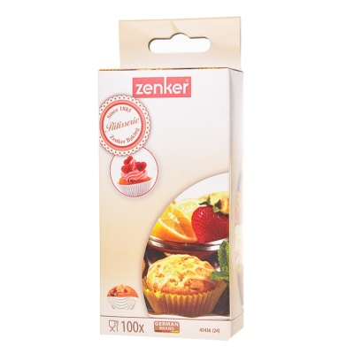 Zenker Little Baking Tins 100ct