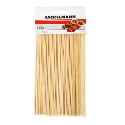 Fackelmann BBQ Sticks Wood 100pcs