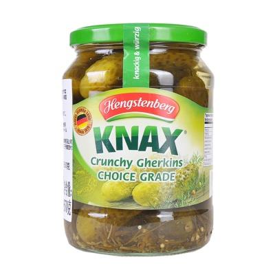 Hengstenberg Knax Crunchy Gherkins 670g