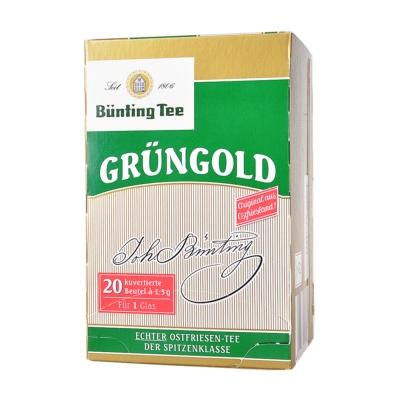 Bünting Tee Grüngold Tea 30g