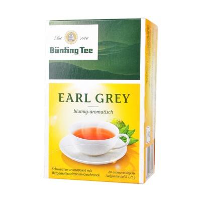 Bünting Tee Earl Grey Blumig-Aromatisch Tea 35g