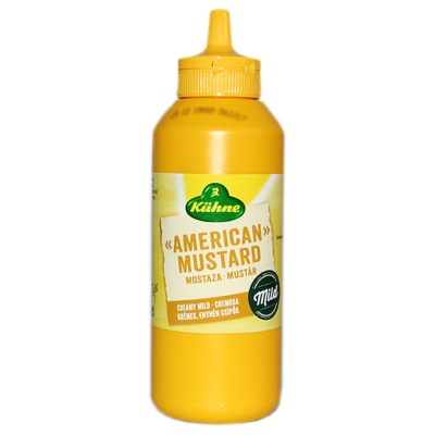 Kuhne American Mustard 255g