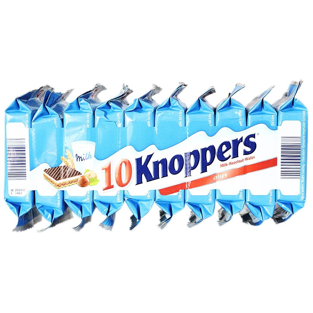 Knoppers Milk Hazelnut Wafer 250g