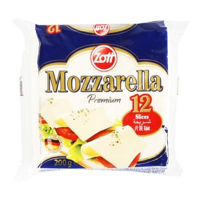 Zott Mozzarella Cheese Slice 200g
