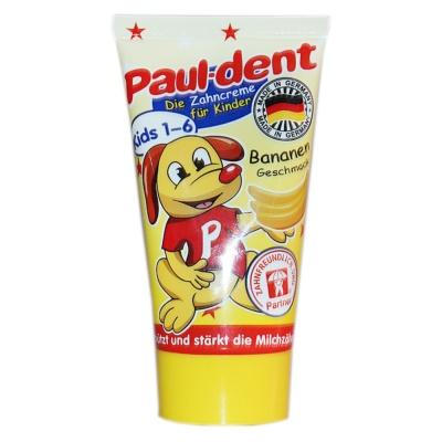Paul-dent Bananen Edible Toothpaste(Kids 1-6) 50ml