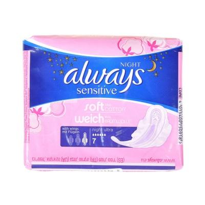 Always Soft & Fit Ultra Overnight Sanitary Napkin 7pcs