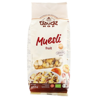 Demeter Bauckhof Fruit Muesli (Gluten Free) 325g