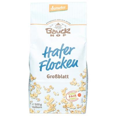 Demeter Bauckhof Full Grain Oat Flaker 500g