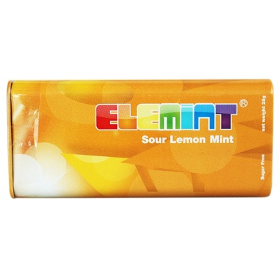 Elemint Sour Lemon Mint 25g