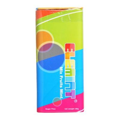 Elemint Sugar-Free Assorted Fruit Mints 25g
