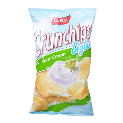 Lorenz Light Sour Cream Crunchips 90g