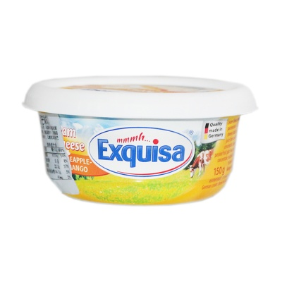 Exquisa Cream Cheese Pineapple-Mango 150g