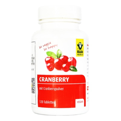 Raab Cranberry Compressed Candys 60g