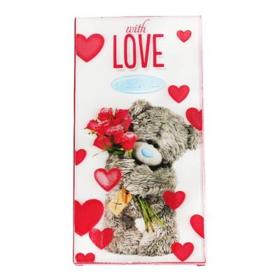 Tessi Bear 50% Dark Chocolate(With Love) 100g