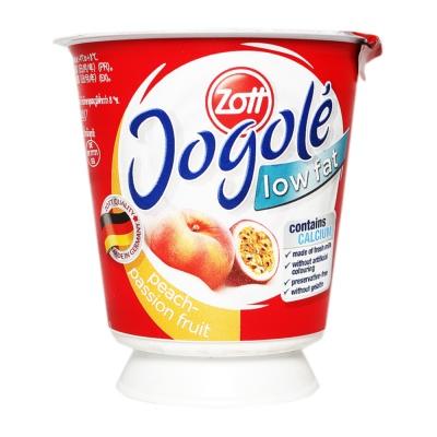 Zott Peach & Passion Fruit Mild Yogurt 120g