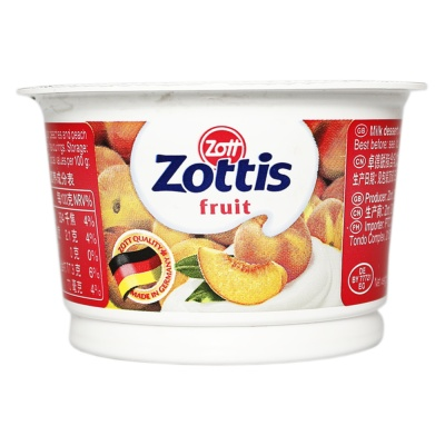 Zott Zottis Fruit(Peach Flavor) 100g