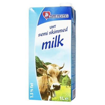 Neuburger UHT Semi Skimmed Milk 1L
