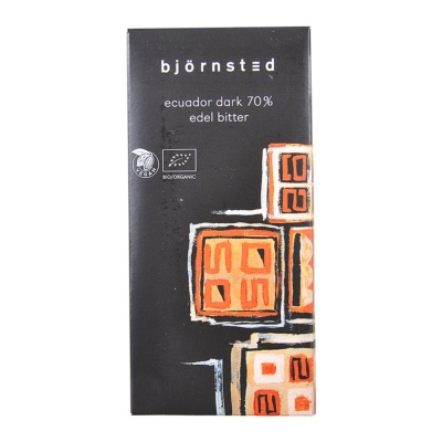 Bjornsted 70% Dark Chocolate 100g