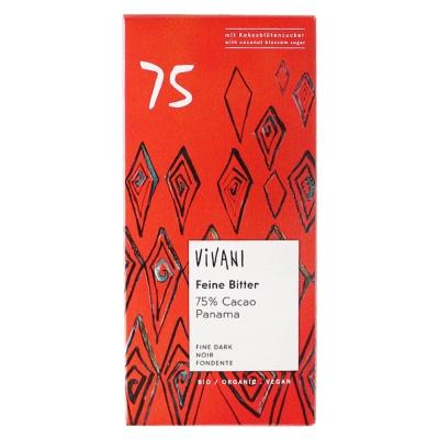 Vivani 75% Dark Chocolate 80g