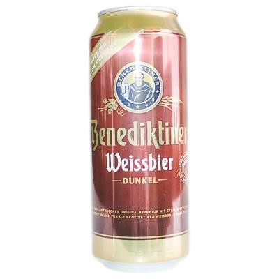 Benediktiner Weissbier Dunkel 500ml