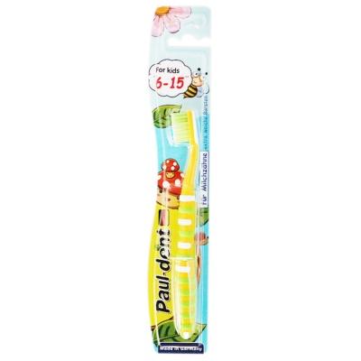 Paul-dent Toothbrush For Kids 6-15 1p