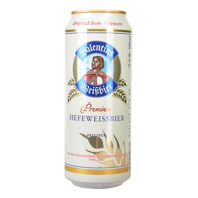 Valentings Premium Hefe Wessbier Beer 500ml