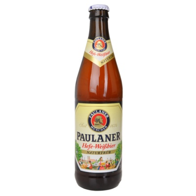 普拉纳白麦啤酒(瓶装) 500ml