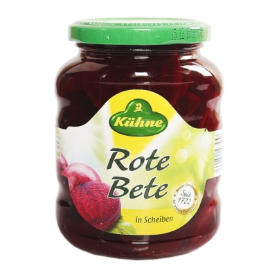 Kuhne Sliced Beetroot Sweet & Sour 320g