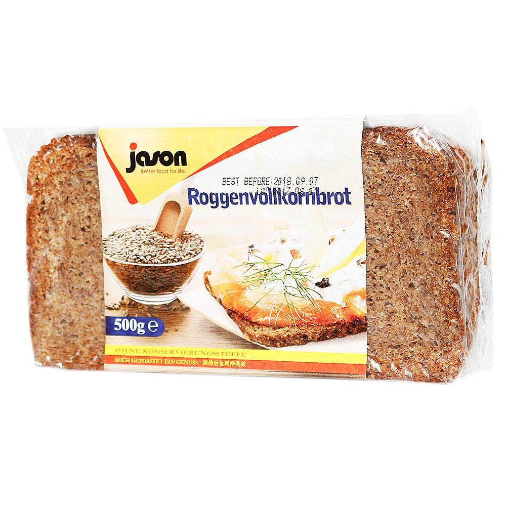 Jason Rye Bread 500g