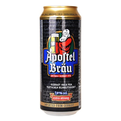 Apoltel Brau Extra Strong Beer 500ml