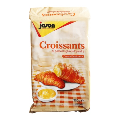 Jason Croissants Cream Pasticcera 300g