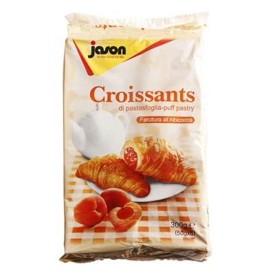 Jason Croissants with Apricot Filling 300g