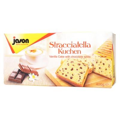 Jason vanilla cake with chocolate splits 400g