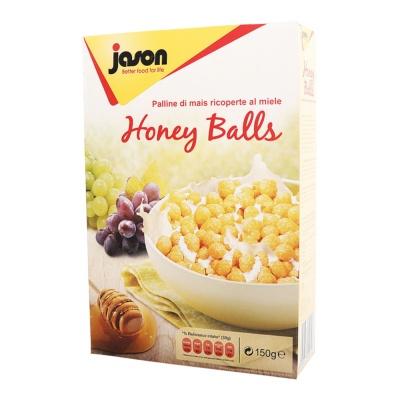 Jason Honey Corn Balls 150g